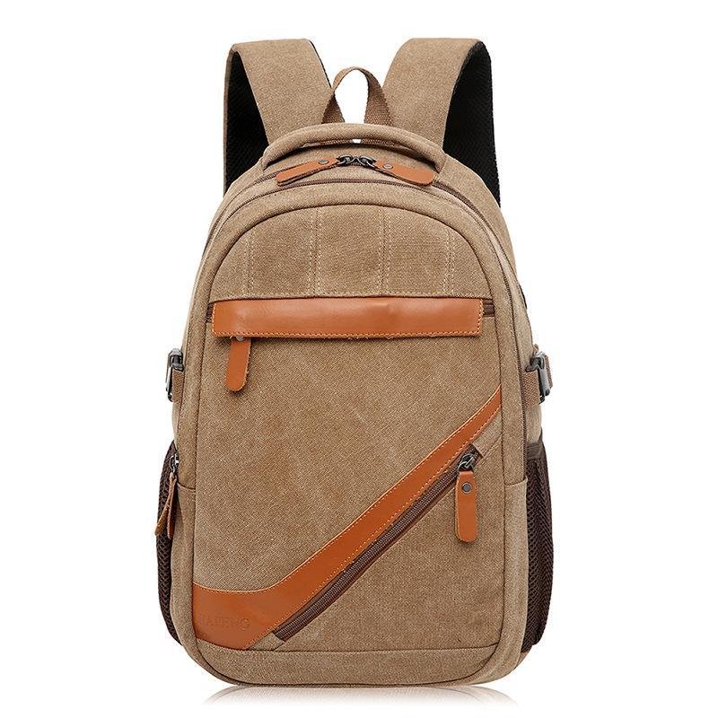Men Backpacks Vintage Design Travel Backpack Casual Canvas Women Backpacks Unisex Large Capacity Drop Shipping Rucksacks