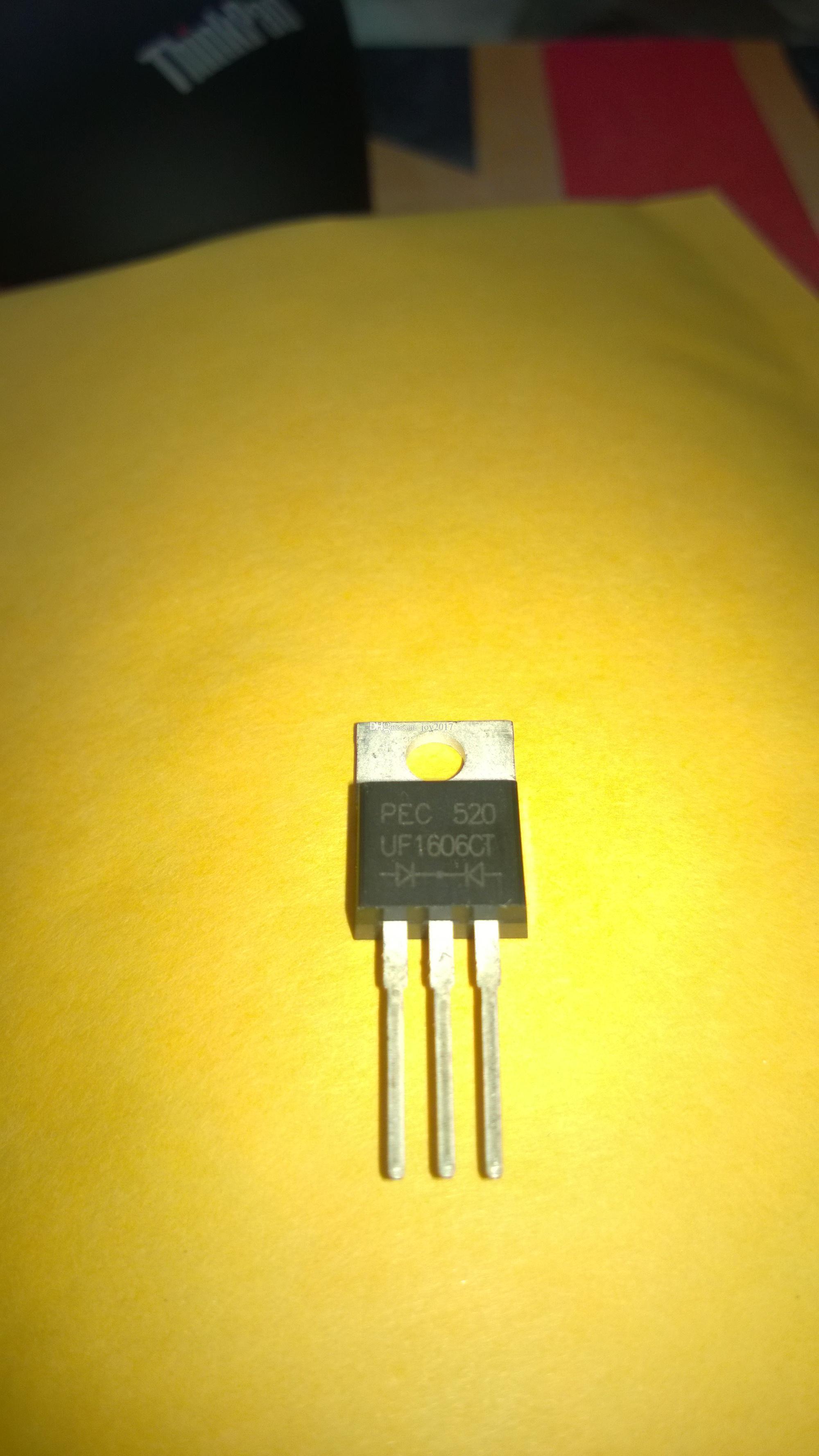 Frete grátis UF1606CT UF1606 UF1606C TO-220 Novo e 10PCS originais / LOT