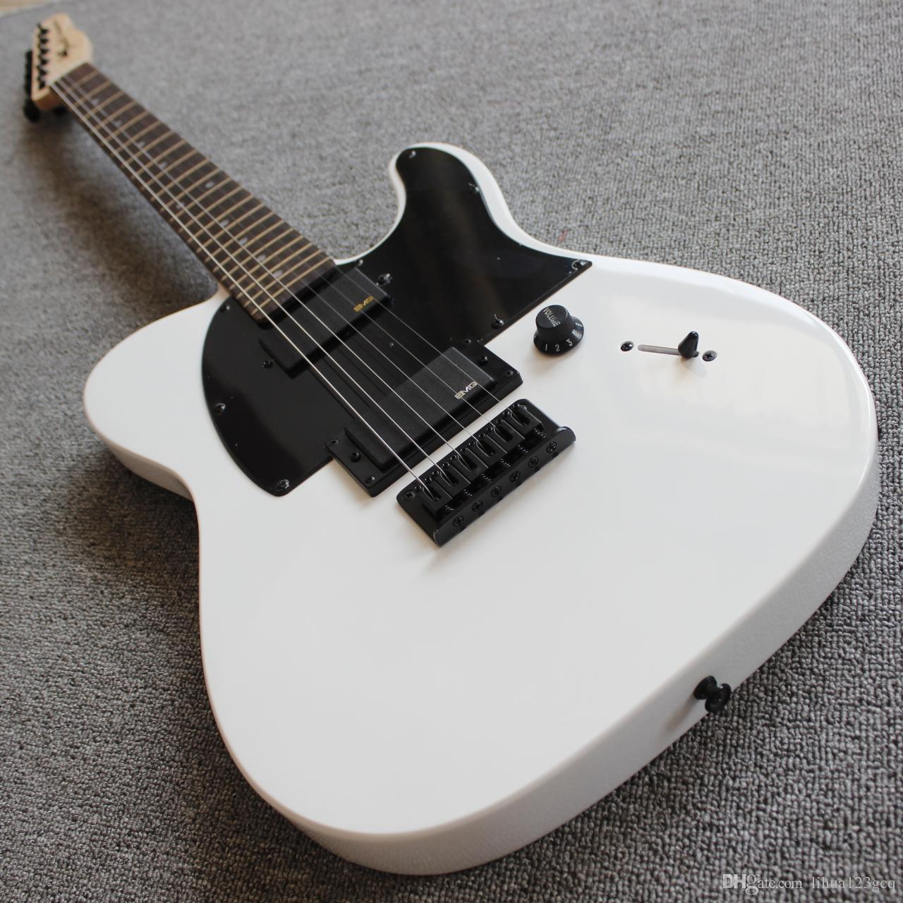 jim root jazzmaster autograph/6 string TL electric guitar/maple Fingerboard/Subwhite tele electric guitar/free shipping