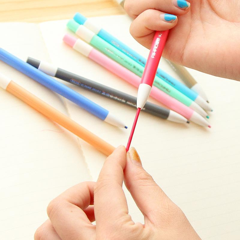 Mechanical Pencil 12 Color Pencil Built in Sharpener 2.0 mm Mechanical Lead Refill