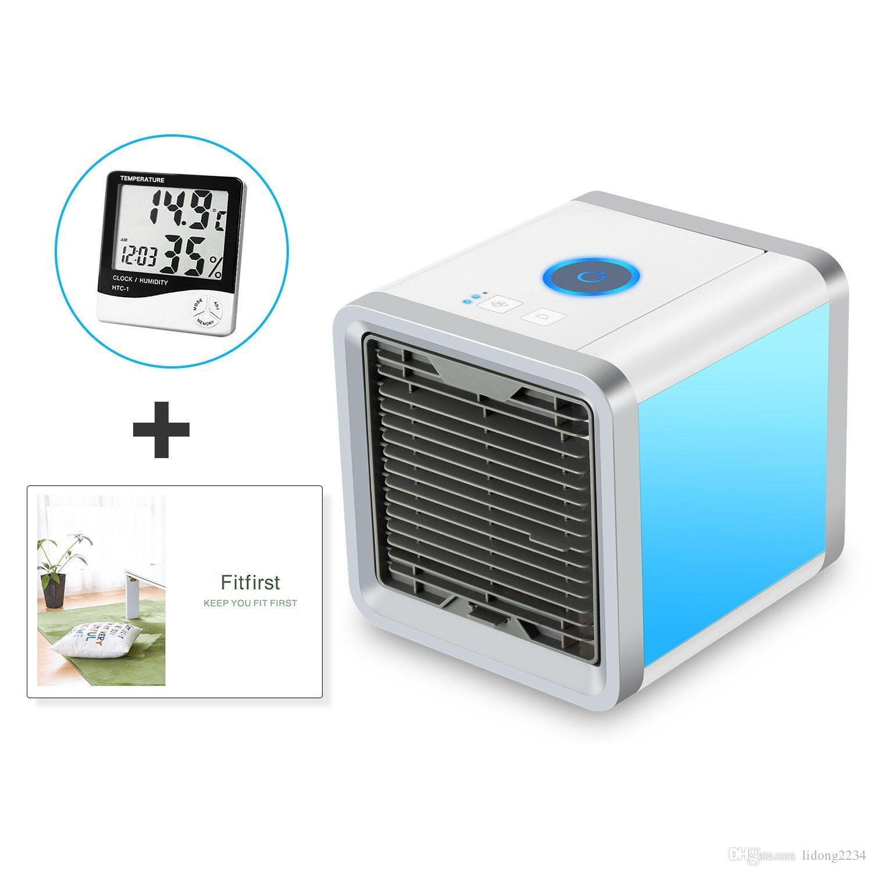 condizionatore daria personale 3-in-1 umidificatore di raffreddamento purificatore daria 3 velocit/à del ventilatore portatile per lufficio della camera da letto allaperto Ventilatore portatile