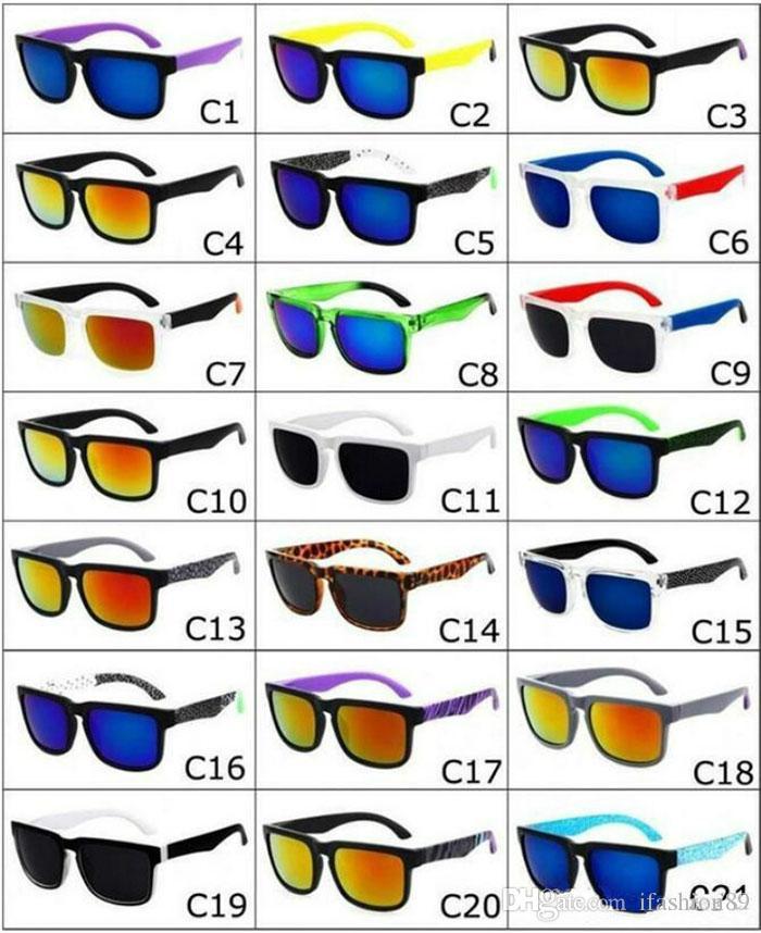NOVA Marca Spied Ken Block Capacete Óculos De Sol Da Moda Esportes óculos de Sol Oculos De Sol Óculos De Sol Eyeswearr 21 Cores Unisex Óculos 50 pcs DHL