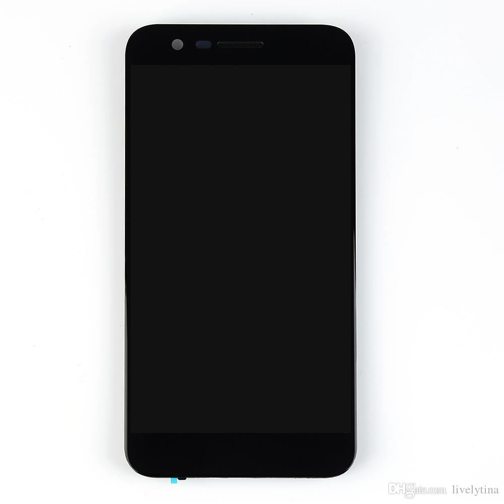 Для LG K20 Plus VS501 MP260 TP260 ЖК-дисплей с сенсорным экраном дигитайзер рамка стекло Ассамблеи запасные части K20 Plus ЖК-дисплей