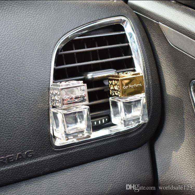 Nouvelle voiture ornement décoration parfum bouteille vide évents clip Auto Désodorisant Voitures Air Conditioner Sortie parfum Odeur Diffuseur