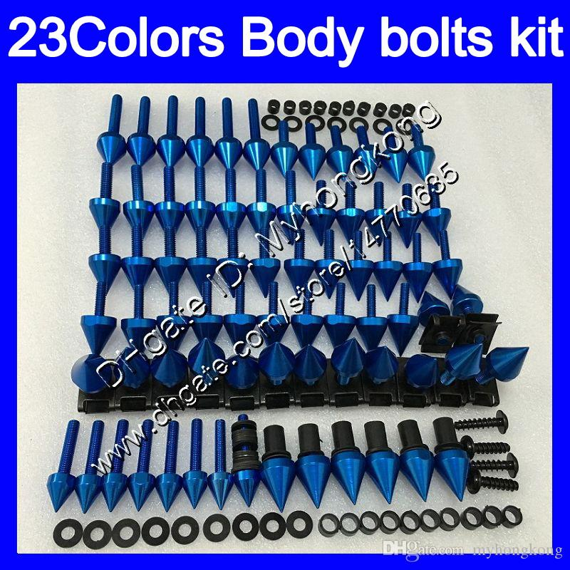 boulons Carénage kit de vis complet pour KAWASAKI ZXR400 89 90 ZXR400 89-90 ZXR400 ZXR 400 1989 1990 Kit boulon écrou vis Nuts Body 25Colors