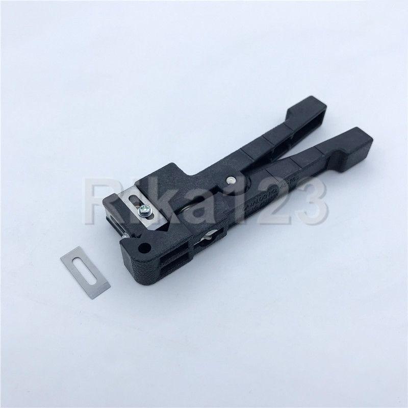 IDEAL 45-165 Koaxialkabel Stripper 4.8mm ~ 8mm Fiber Optic Kabel Stripper FTTH Fiber Pufferschlauch Jacke Stripper