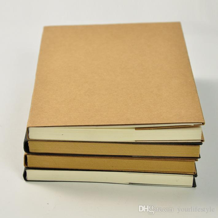 DIY Sketch Book Retro Kraft Diario di viaggio Graffiti vuoti Sketchbook Notebook per la pittura Disegno Coreano Materiale scolastico di cancelleria Regalo