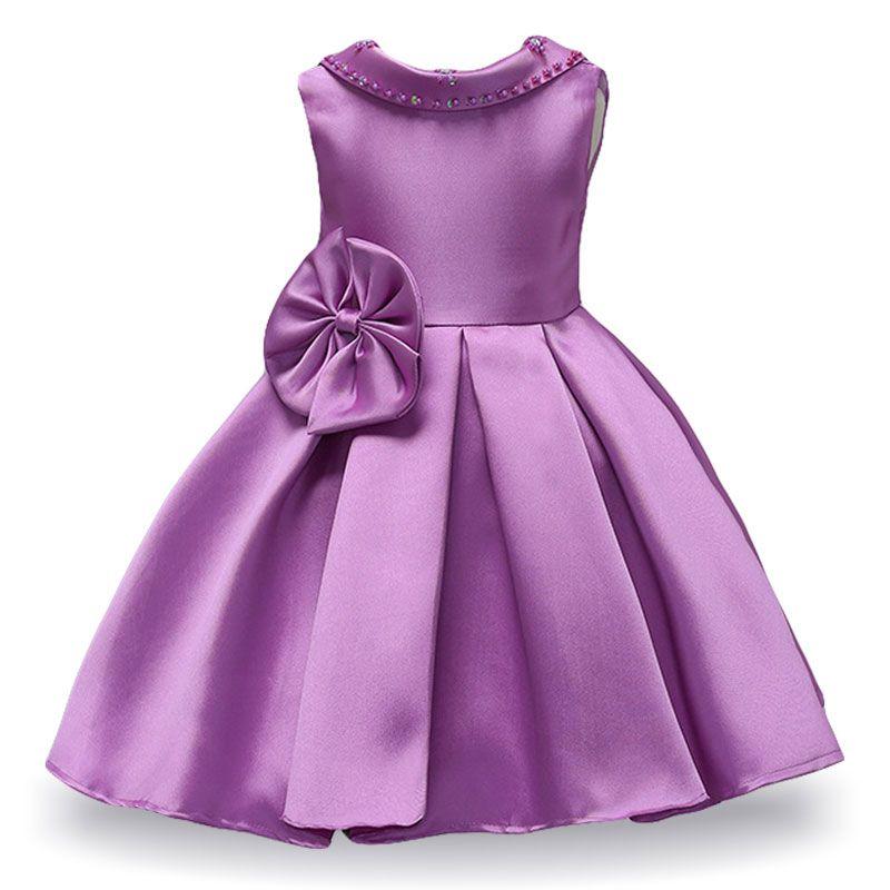 LZH свадебные девушки цветка платье для девочек платье принцессы дети Elegent невесты платье младенческой платье партии лето Детская одежда