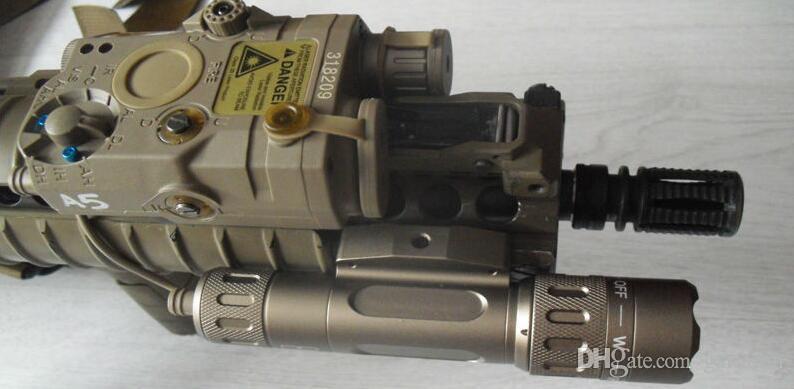 전술 라이트 콤보 PEQ 포함 15 WMX-200 손전등 더블 원격 제어 스위치 (EX 418)