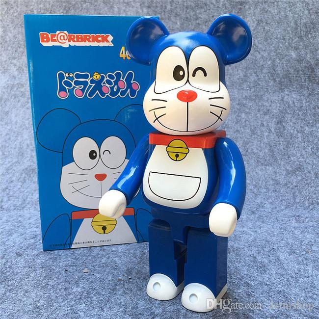 400/% Bearbrick Be@rbrick Doraemon Model Action Figure Free Shipping