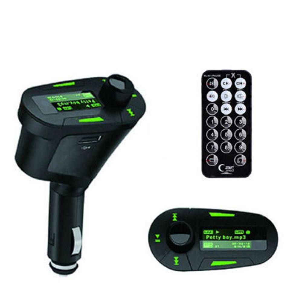Universal Car Kit Music Player Trasmettitore FM Radio Adapter USB SD MMC Kit caricabatteria per auto MP3 Player non Bluetooth FM Transmitte car audio