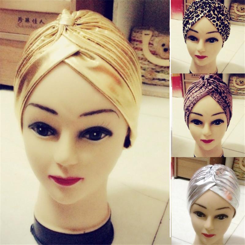 Il nuovo modo unico di stile elastico Turbante Chemo headwrap capelli dell'involucro di copertura della fascia delle donne di stile casual