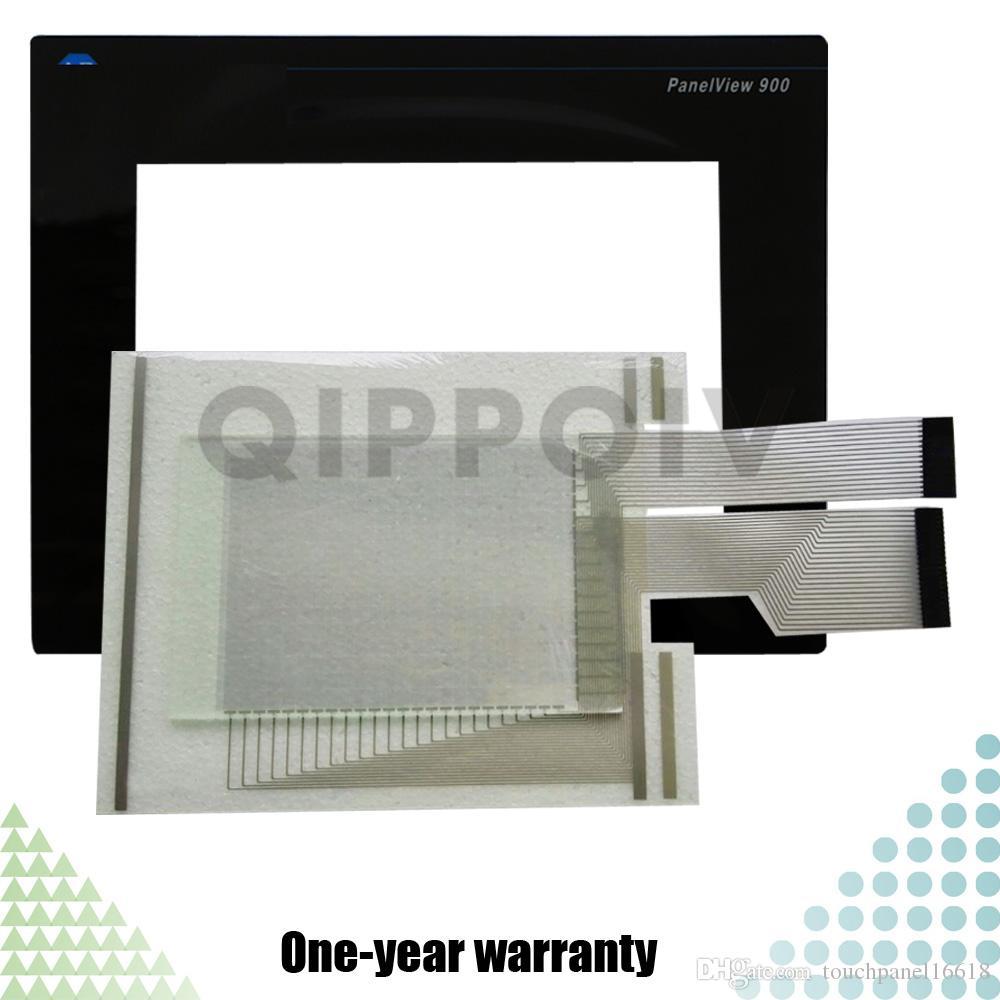 Panelview 900 2711-T9A3L1 2711-T9A5L1 2711-T9C1L1 2711-T9C2L1 2711-T9A8 2711-T9A9 Neue HMI-SPS Touchscreen-Panel und Front-Etikett