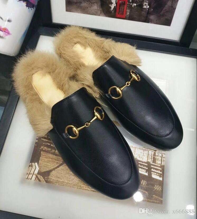 2019 женская меховая тапочка реального енота мех МОДА СТИЛЬ пушистый слайды мягкие теплые меховые обувь