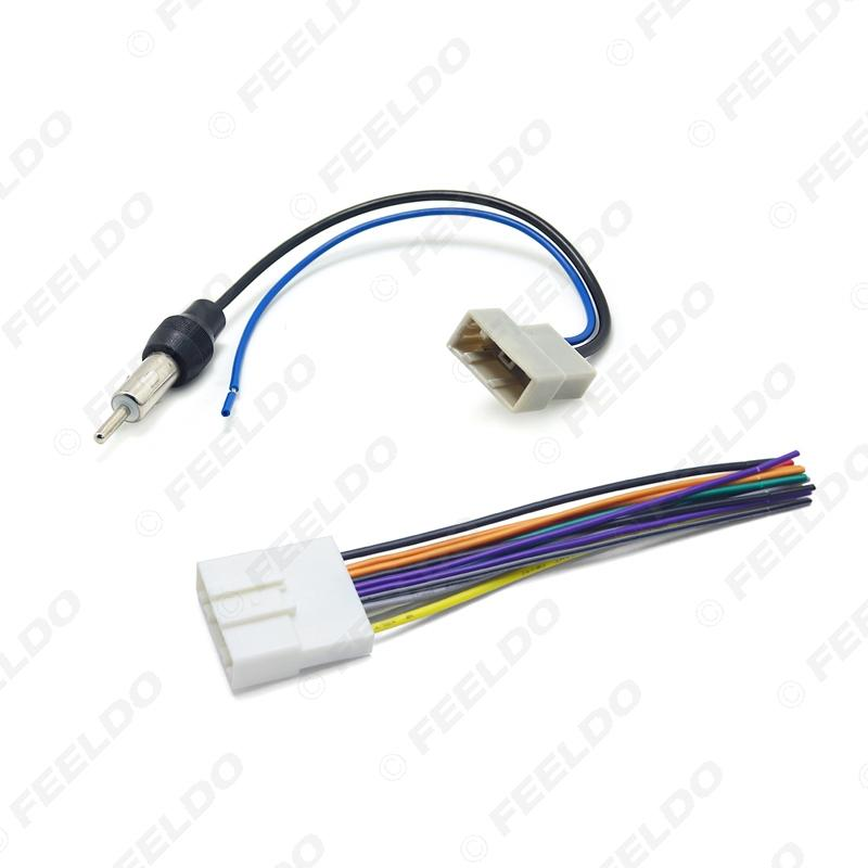 nissan 370z stereo wiring 2020 car cd audio stereo wiring harness antenna adapter for nissan  2020 car cd audio stereo wiring harness
