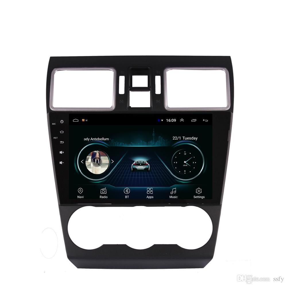 Android car player with HD 1080 Resolution HD 1024 * 600 multi-touch screen microphone mp3 mp4 music for Subaru forester 2013-2017 9inch
