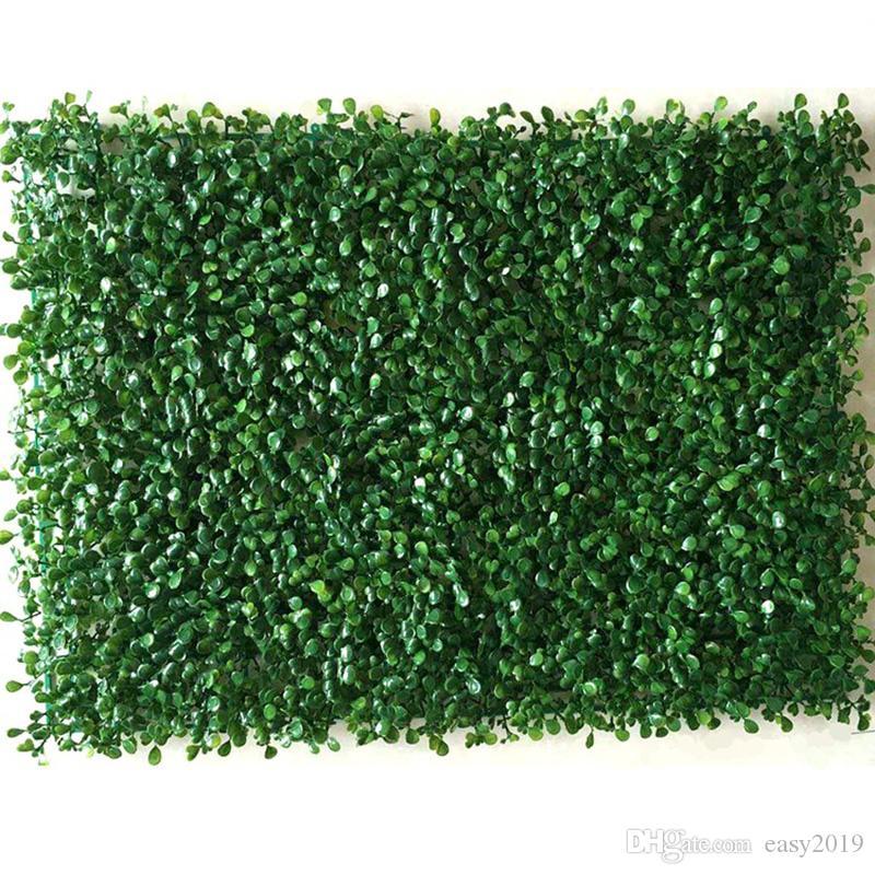 Искусственный Green Grass площади лужайки Завод Главная Декор стены Растения сад Двор 2018