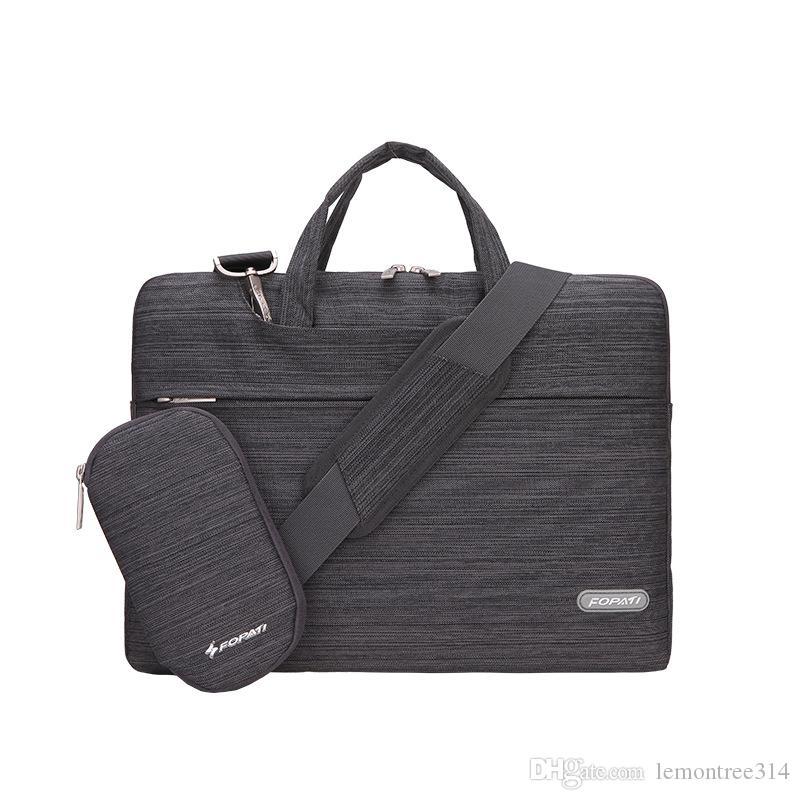 Oxford Paquete de maletín en 13 de 15 pulgadas Laptop Bag 11 Mango de Traslado de hombro caso de la energía 14 del bolso del ordenador / portátil / MacBook 12 Con AEGH para hacer negocios
