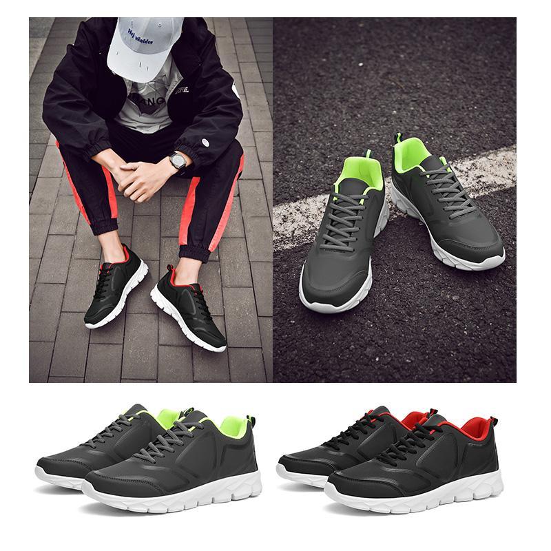 triple nero bianco colore verde comodi degli uomini del cuoio donne rosse pattini correnti formatori di lusso scarpe da ginnastica di marca formato 38-46