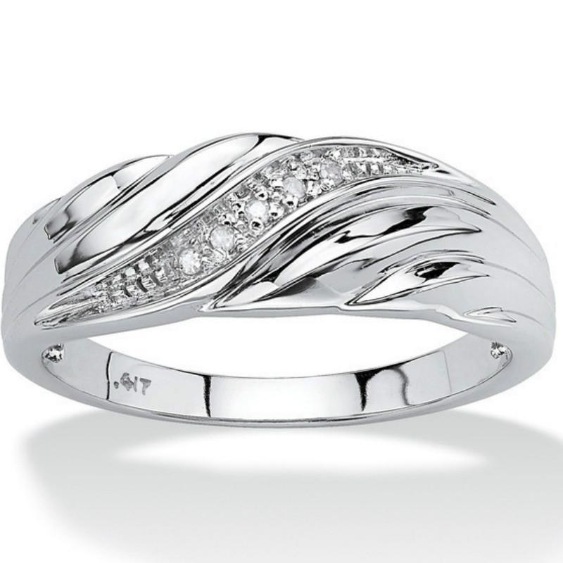 moda 2020 criativo nova torcida embutimento zircão unisex casal anel cor de ouro opcional de jóias de casamento presente do banquete de alta qualidade