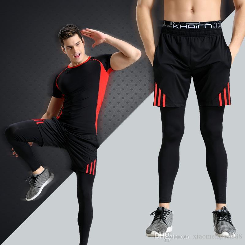 Mens Tigh S Comprs Pan Spr Runn Tigh Basketba tigh Hose Hosen Bodybuilding Jogger Jogging dünne schwarze Leggings Hosen