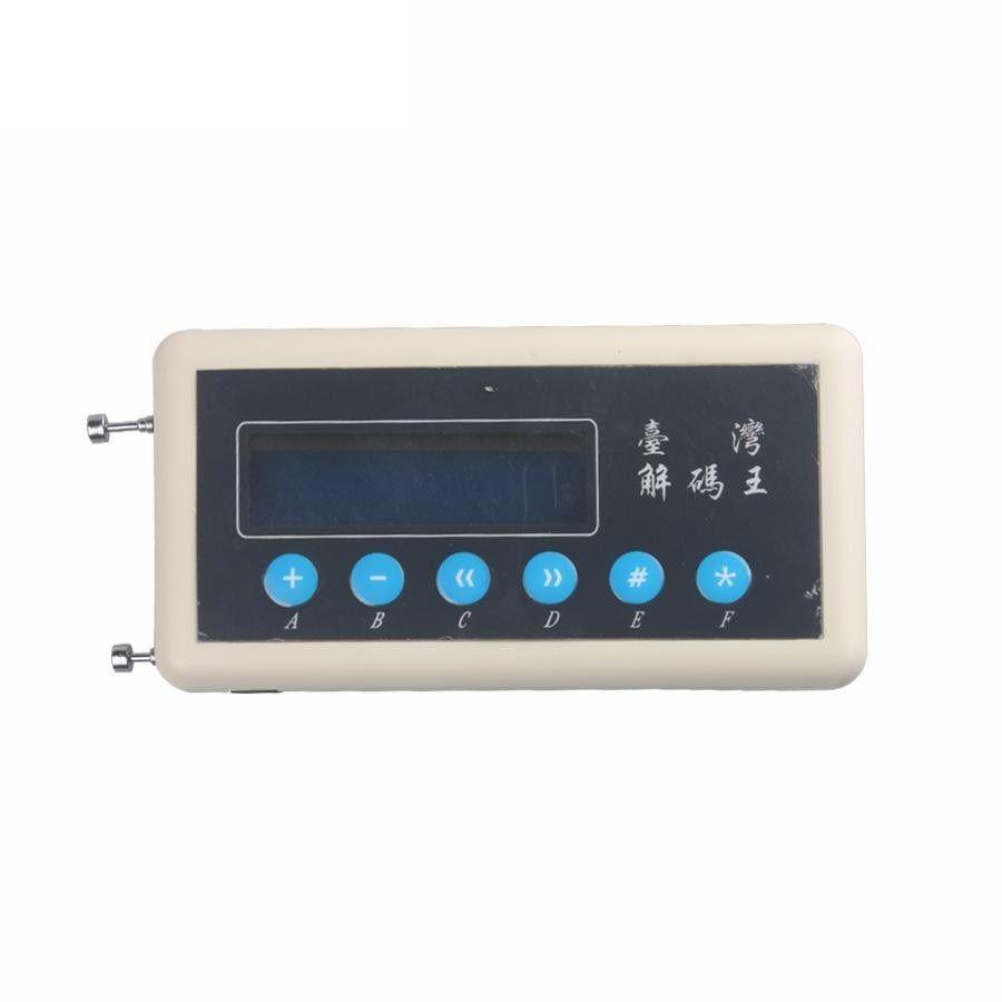 CKS 315Mhz Télécommande Scanner de code 433Mhz Clé Copieur Clé voiture Télécommande sans fil Clé Détecteur de code duplicateur