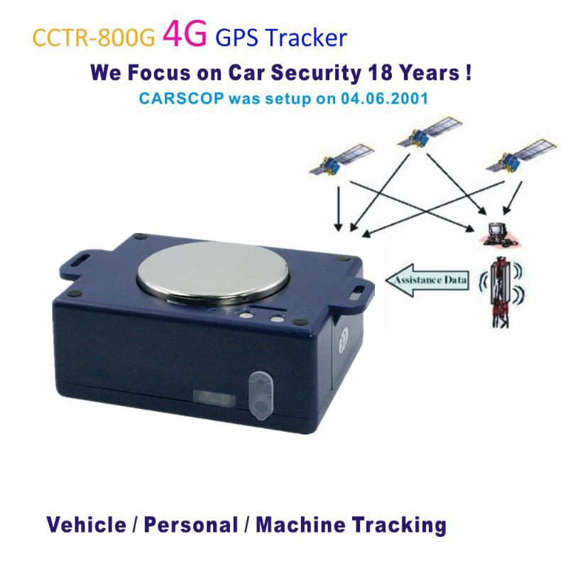 Free platform 4G GPS Tracker Vehicle/ Personal/Maching Tracking with Water-Proof Strong Magnet Portable with Web/App/SMS Locate