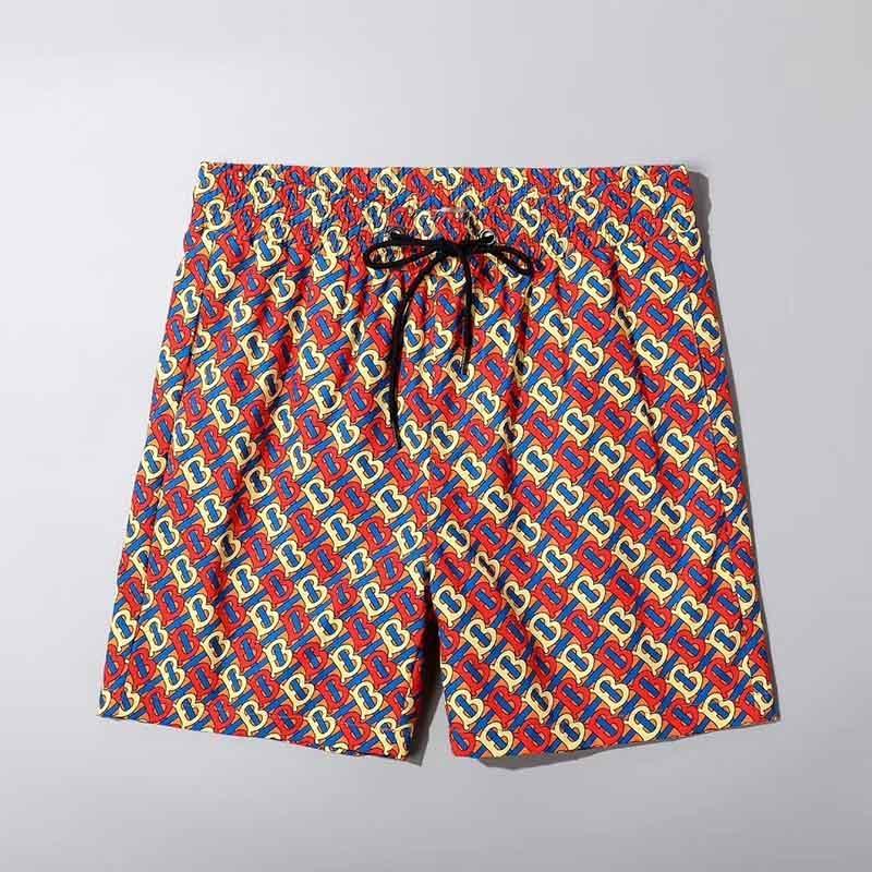 2020 nuovi pantaloni della spiaggia degli uomini barrati modo costume da bagno estate bicchierini degli uomini di bordo costumi da bagno ad asciugatura rapida bicchierini degli uomini