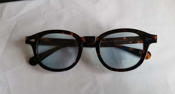 Para gafas Moda Gafas de sol Gafas de sol Depp Johnny Men Mujer Mujeres Sun Hombres Hombres Diseñador Contorno Protección UV para al por mayor-Sungla Rifs