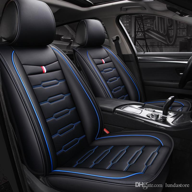 New Cartoon Luxury Pu Leather Car Seat Covers For Infiniti Q50 Fx