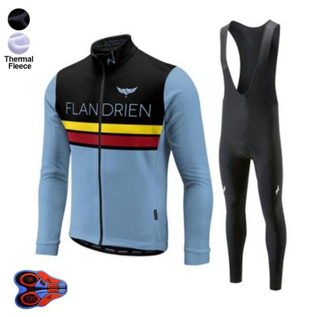2019 Morvelo الرجال الشتوية الحرارية الصوف ركوب الدراجات جيرسي مجموعة الملابس سترة دافئة تناسب MTB دراجة رياضة ركوب الدراجات