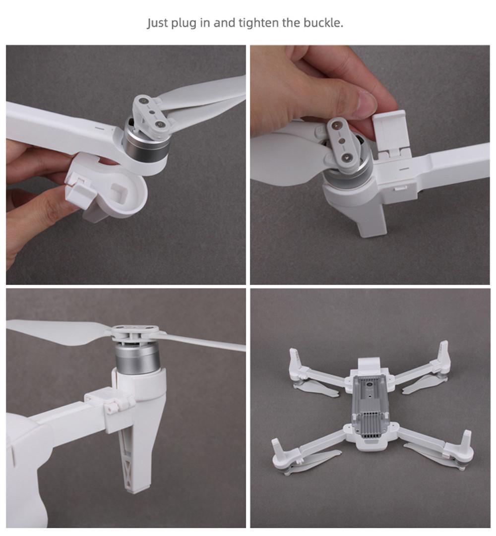 Genişletilmiş İniş Takımları Gimbal Kamera Lens Kapağı Koruyucu İçin Xiaomi Fimi X8 SE #EW