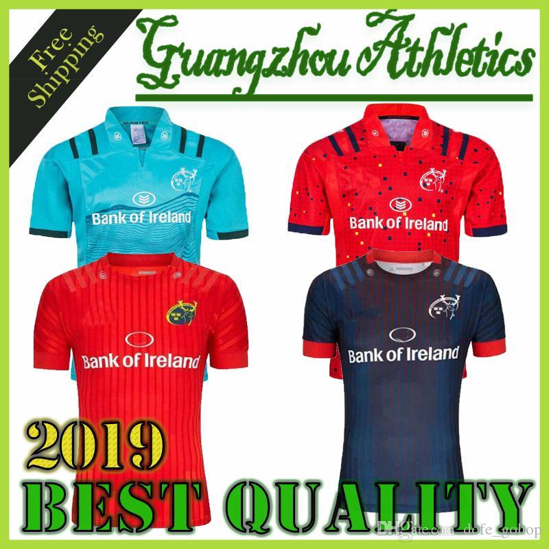 Camisetas de rugby Munster city 2019 de alta calidad 18/20 MUNSTER city home away hombres Rugby-Trikots talla S-3XL