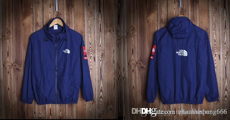 Autumn casual waterproof windbreaker for men hip hop men sport windbreaker coats new fashion thin brief men jackets free shipping