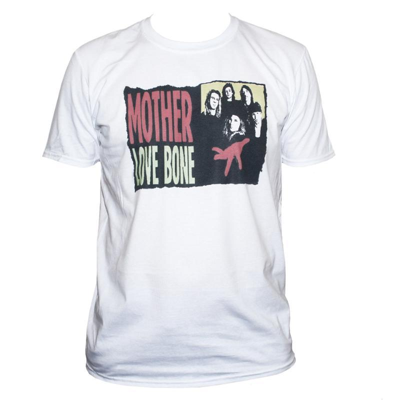 Mother Love Bone camiseta para hombre de metal alternativo de Soundgarden gráfico Tops Camiseta casual manera de la impresión