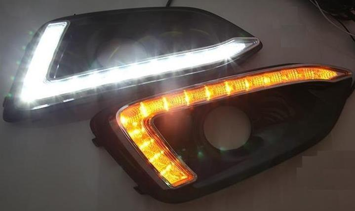 For Chevrolet Malibu 2016-2017 LED Daytime Running Lights Car DRL Signal Lamp