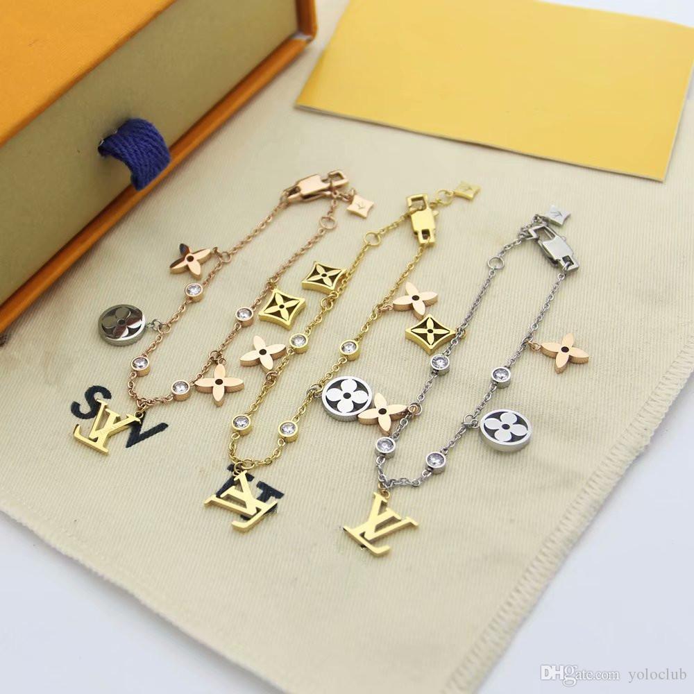 Новое поступление 3 цвета braceletbangle цветок ювелирные изделия полые Шарм кисточкой браслет для бахромы цепи женщин подарки оптовая цена