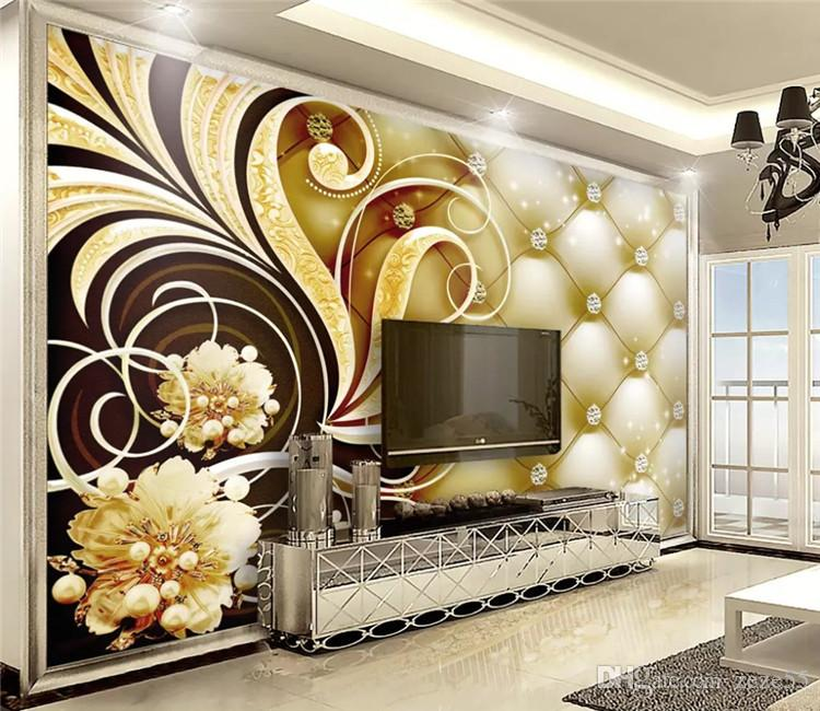 wallpaper 3d on the wall Custom Royal Diamond Soft Pack Photo Wallpaper papier peint mural 3d wall papers home decor