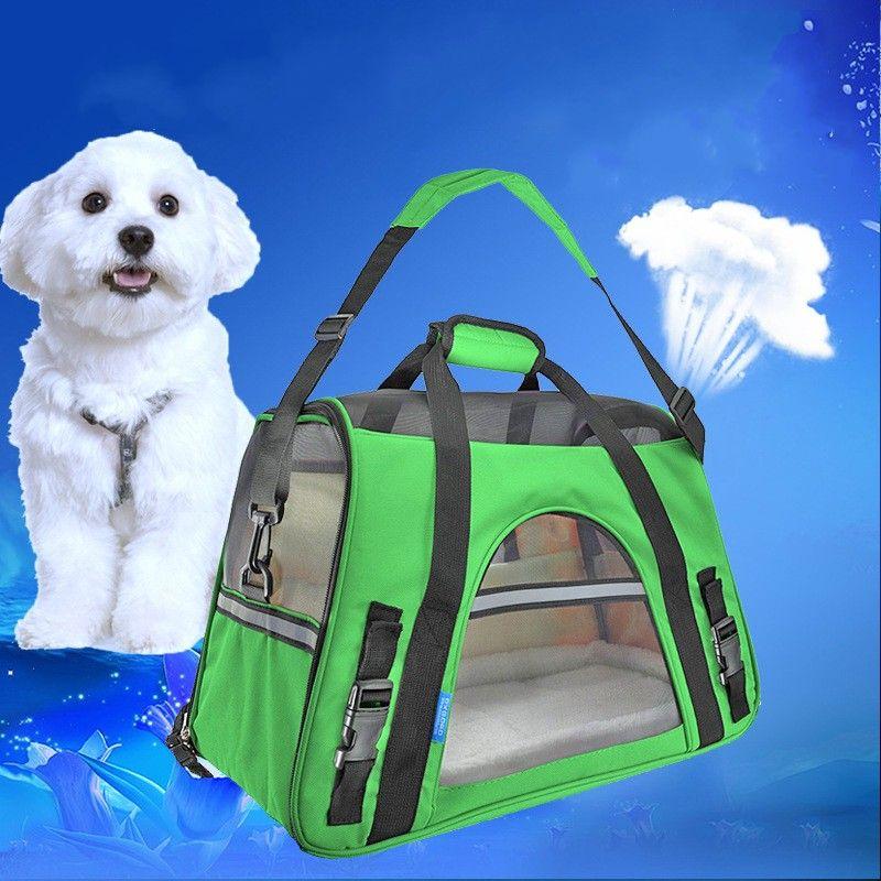 Pet Kedi Köpek Yumuşak Taraflı Taşıyıcı 600D Oxford Bez Taşınabilir Çanta Evcil Hayvanlar Için Seyahat Omuz Sling Çanta Yavru Kediler 65BD E1