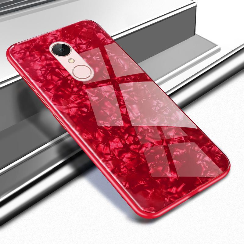 5 plus case für xiomi xiaomi redmi 5 plus abdeckung luxus muschelschale gehärtetes glas phone cases für xiaomi redmi 5 fundas