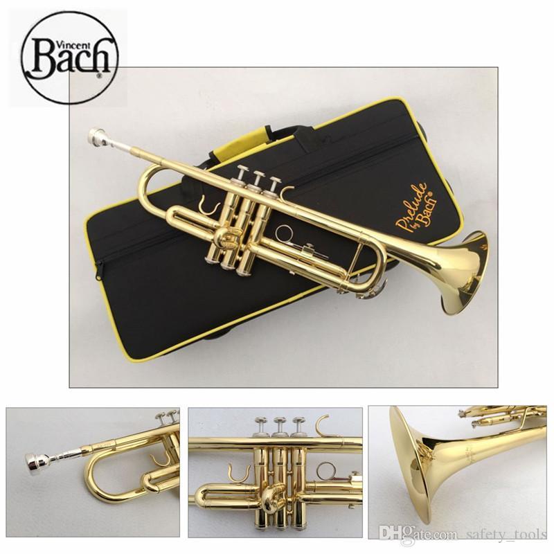 Trompet Bach TR600 altın renk küçük Müzik Aletleri İlköğretim öğrenci başlayanlar trompet