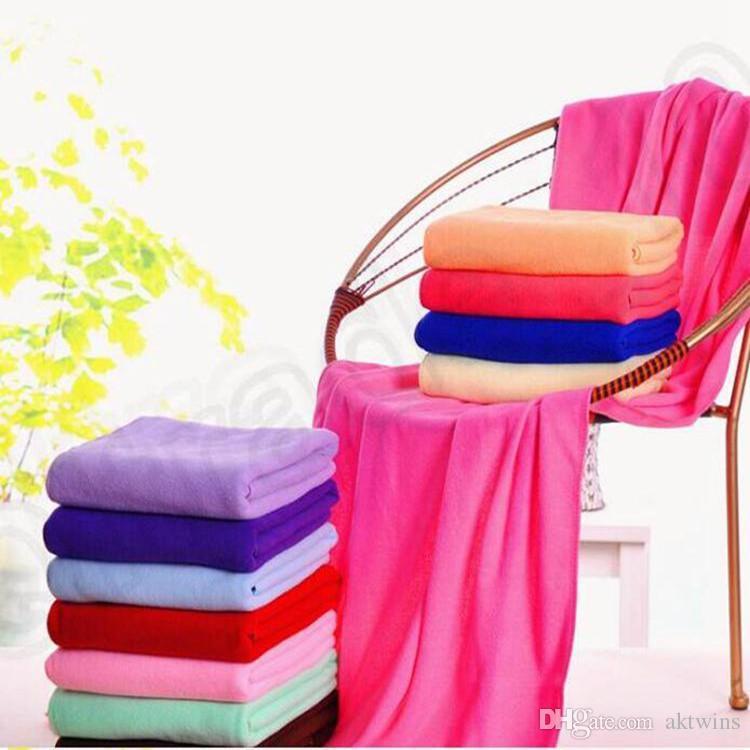 Yetişkinler Banyo Havlu Moda Lady Giyilebilir Duş Havlu Vücut Wrap Hızlı Kuruyan Banyo Havlu Plaj Bornozları Süper Mikrofiber Havlu LXL29-1