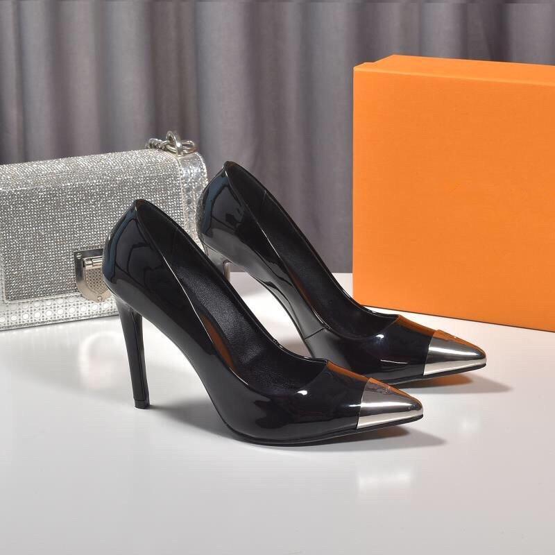 2020 moda bayan ayakkabı yüksek topuklu yeni moda bayan ayakkabıları Süperstar Topuklar kadınlar kutusu ile ayakkabı elbise