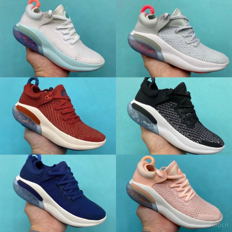 Nike JOYRIDE RUN FK New Shoes Chaussures de course pour sortie KIDS Blanc Voile Noir Orange Université baskets Rouge Bleu Volt