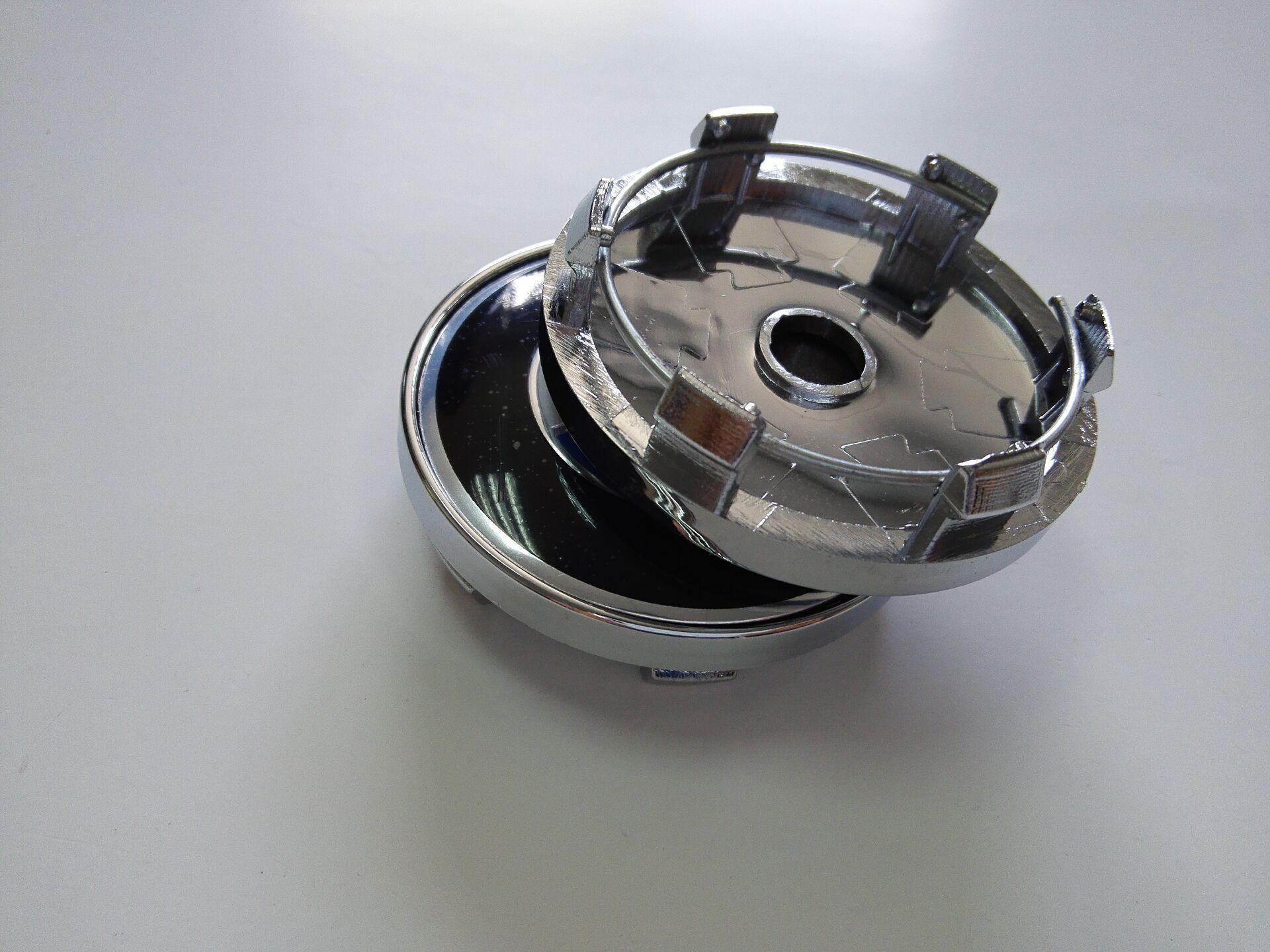 Araba Şekillendirme 60mm Tekerlek Merkezi Hub araba amblemi Rozet İçin Bmw / Vw / Opel / Mazda / Lexus / Volvo / Toyota / H / Kia / Oz Racing Caps.