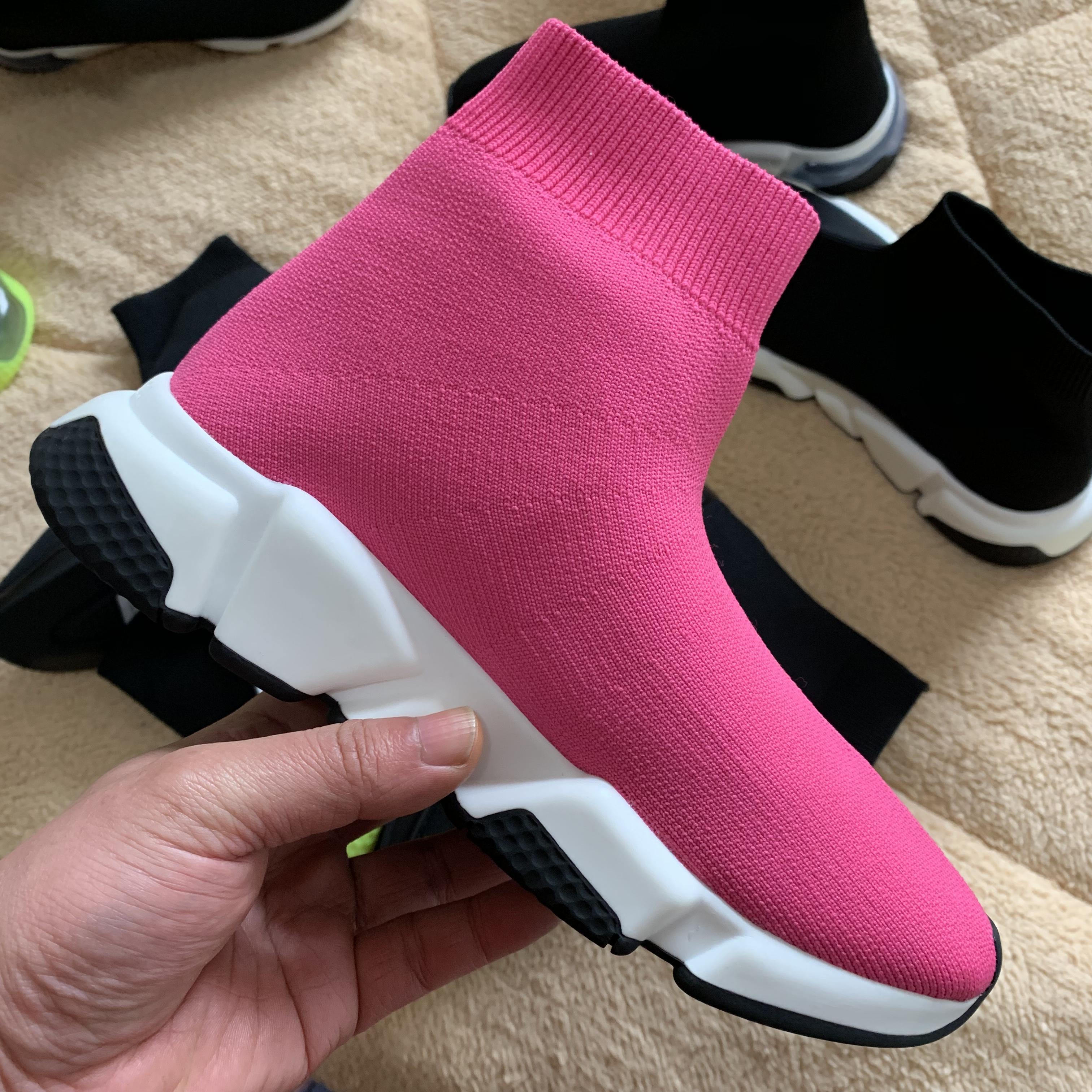 2020 Speed Hot modo delle nuove donne di alta qualità Trainer Sneakers belle scarpe Knit calzino Sport Runners Stivali