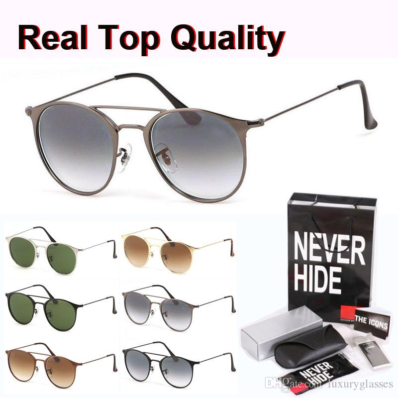 Best quality Brand Designer Sunglasses Men Women Alloy Frame Glass Lens oculos de sol with original box, packages, accessories, everything!