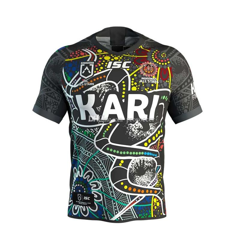 Indígenas Todas as estrelas 2020 Adulto Home Super Rugby Jersey Camiseta Maillot Camiseta Maglia Tops S-5XL TRIKOT Camisas