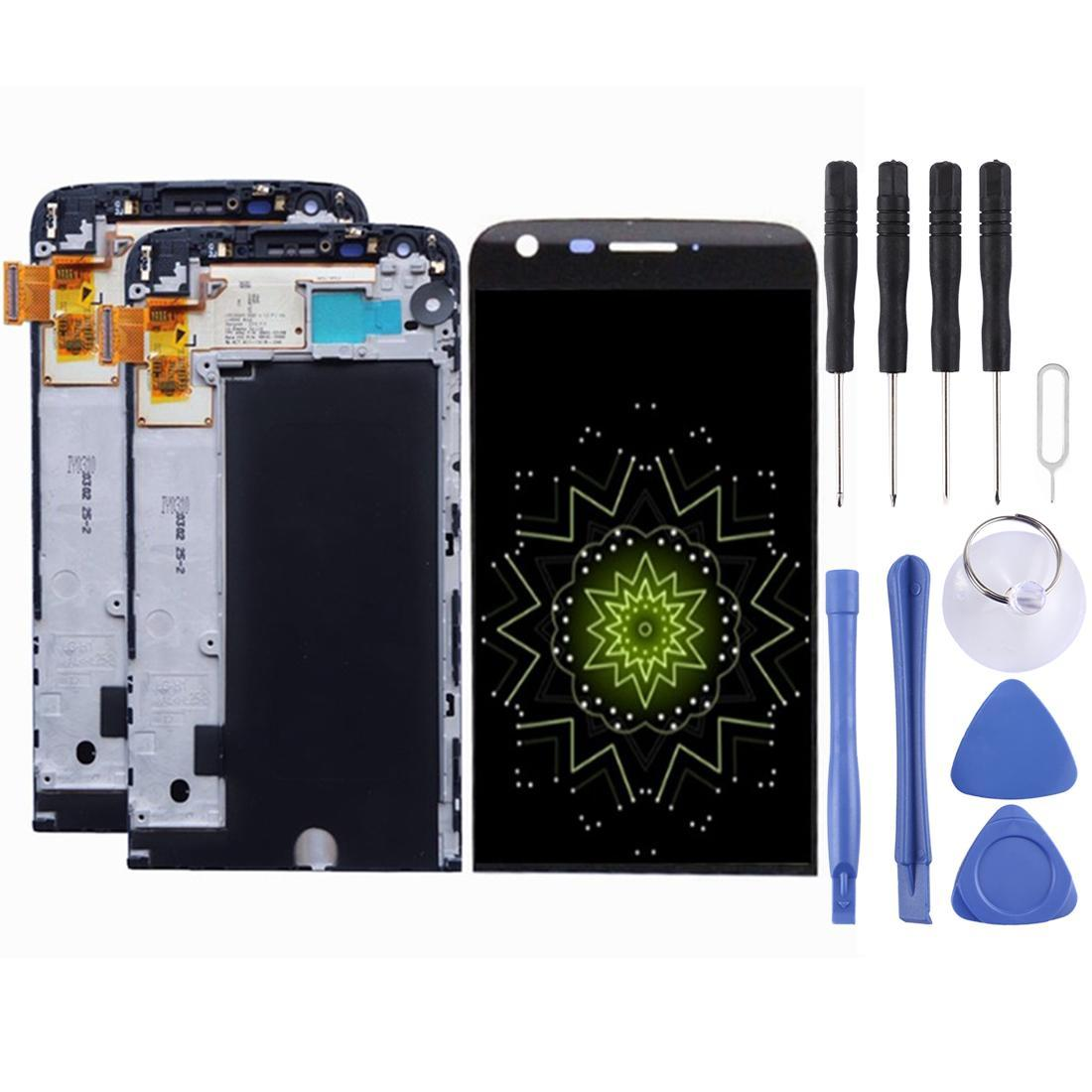iPartsBuy Tela LCD + Touch Screen Assembly digitador com quadro, tela LCD e digitador completa Assembléia digitador Assembléia com quadro, por