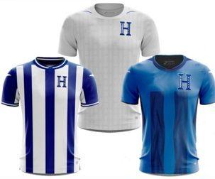 Anpassad 21-22 Honduras Thai Quality Soccer Jerseys 11 Castillo 6 Garcia 13 Dyrt 2 Beckeles 9 Lozano 7 Izaguirre 17 Elis 10 Lopez Wear